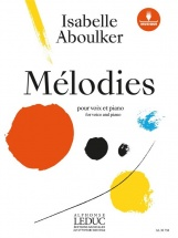 Aboulker Isabelle - Melodies - Voix and Piano