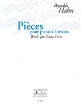 Hahn Reynaldo - Pieces Pour Piano 4 Mains