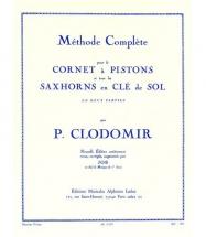 Clodomir P. - Methode Complete Vol.2 Pour Le Cornet A Pistons Ou Tout Saxhorn Clé De Sol