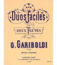 Gariboldi - 6 Duos Gradues Pour Flutes