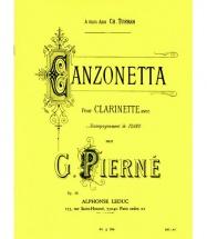 Pierne G. - Canzonetta - Clarinette