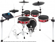 Alesis Strike Kit - 5 Futs + 3 Cymbales