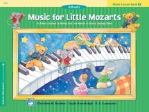 Music For Little Mozarts - Music Lesson Book 2 - Piano