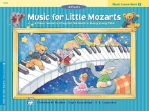 Music For Little Mozarts - Music Lesson Book 3 - Piano