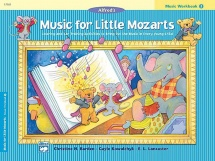 Music For Little Mozarts - Music Workbook Book 3 - Piano