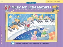 Music For Little Mozarts - Music Lesson Book 4 - Piano