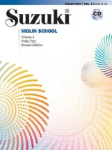Suzuki Violin School Vol.4 + Cd