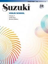 Suzuki Violin School Violin Part Vol.6 + Cd - Edition Revisee
