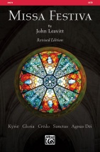 Leavitt John - Missa Festiva - Satb