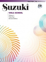 Suzuki - Viola School Vol.4 - Alto + Cd