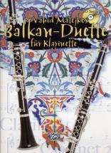 Matejkos V. - Balkan-duette + Cd - Clarinette