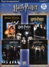Harry Potter Instrumental Solos Movies 1-5 + Cd - Partie Piano Accompagnement