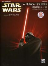 Star Wars Musical Journey Episodes I - Vi Alto Sax + Cd
