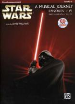 Star Wars Musical Journey Episodes I - Vi Piano Acc. + Cd