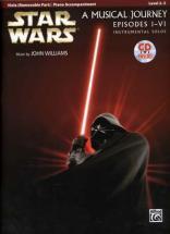 Star Wars Musical Journey Episodes I - Vi Viola/piano Acc. + Cd