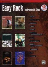 Easy Rock Instrumental Solos + Cd - Saxophone Alto