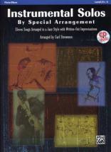 Strommen Carl - Instrumental Solos By Special Arrangement + Cd - Flute Ou Hautbois
