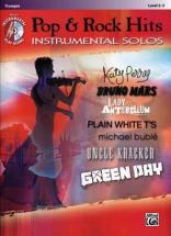 Pop & Rock Hits Instrumental Solos Trumpet + Cd