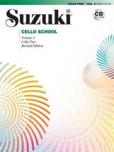 Suzuki Cello School Vol.2 (revised) + Cd