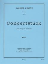 Pierne Gabriel - Concertstuck Pour Harpe and Orchestre - Partie De Harpev