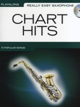 Really Easy Saxophone Chart Hits With Cd - Alto Saxophone
