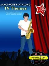 Saxophone Playalong Tv Themes + Cd - Alto Saxophone
