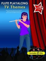 Flute Playalong Tv Themes + Cd - Flute