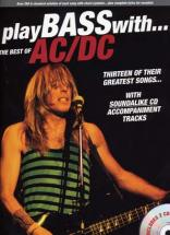 Ac/dc - Best Of Play Bass With + 2 Cd - Basse Tab
