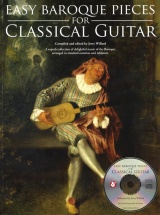 Easy Pieces For Baroque + Cd - Guitar