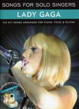 Lady Gaga - Songs For Solo Singers + Cd - Pvg