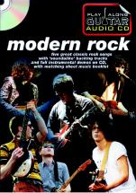 Play Along Guitar Audio Cd : Modern Rock - Guitare Tab