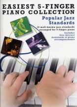 Easiest 5-finger Piano Collection Popular Jazz Standards - Piano