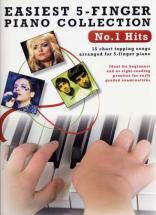 Easiest 5-finger Piano Collection N°1 Hits