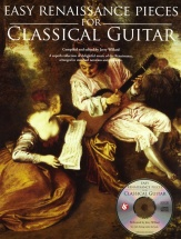 Easy Renaissance Pieces For Classical Guitar + Cd - Classical Guitar