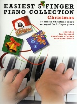Easiest 5-finger Piano Collection - Christmas - Piano Solo