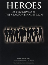 David Bowie - Heroes X Factor Finalists Single - Pvg