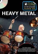 Play Along Drums Audio + Cd - Heavy Metal - Drums