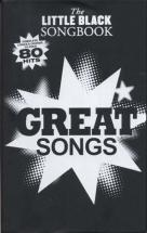 Little Black Songbook - Great Songs - 80 Hits - Paroles Et Accords
