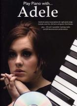Adele - Play Piano With + Cd - Piano