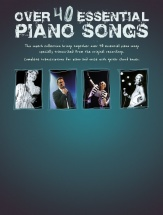 Over 40 Essential Piano Songs - Pvg