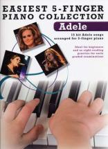 Adele - Easiest 5-finger Piano Collection
