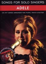 Adele - Songs For Solo Singers - Pvg
