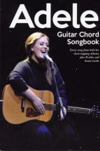 Adele - Guitar Chord Songbook
