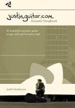 Justin Sandercoe - The Justinguitar.com Acoustic Songbook - Guitar