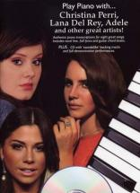 C. Perri, L. Del Rey, Adele & Others... - Play Piano With + Cd