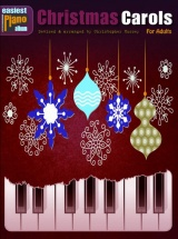 Easiest Piano Album - Christmas Carols - For Adults - Piano Solo