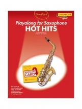 Guest Spot - Hot Hits - Alto Saxophone (book + Audio Download)