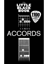 Guide Accords Guitare - Little Black Songbook - Edition Francaise