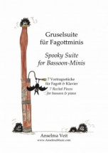 Veit Anselma - Spooky Suite For Bassoon-minis - Basson