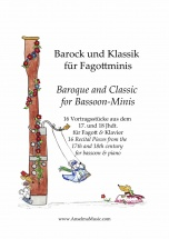 Veit Anselma - Baroque And Classic For Bassoon-minis - Basson